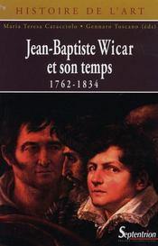 Jean-baptiste wicar et son temps 1762-1834 - Intérieur - Format classique