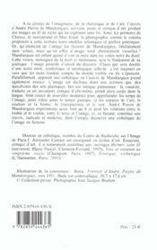 Esthetique de l'image, fictions d'andre pieyre de mandiargues - 4ème de couverture - Format classique