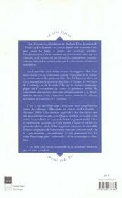 Norbert Elias et la théorie de la civilisation ; lectures et critiques - 4ème de couverture - Format classique