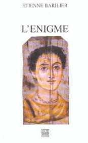 L'Enigme - Couverture - Format classique