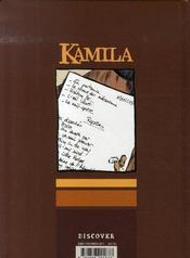 Kamila - 4ème de couverture - Format classique