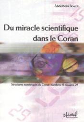 Du miracle scientifique dans le coran - Couverture - Format classique