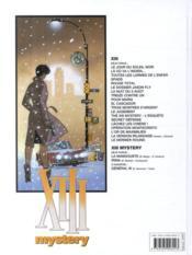 XIII Mystery T.2 ; Irina - 4ème de couverture - Format classique