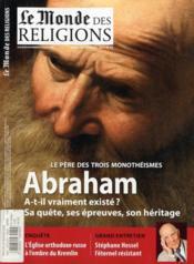 Le Monde Des Religions N.45 ; Abraham ; Janvier 2011 - Couverture - Format classique