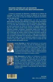 Regards croisés sur les sécurités dans les relations euro-méditerranéennes - 4ème de couverture - Format classique