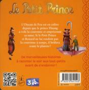 Le petit prince et l'oiseau de feu - 4ème de couverture - Format classique