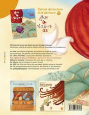 AUX 4 VENTS ; cahier de lecture et d'écriture t.1 ; GS - 4ème de couverture - Format classique