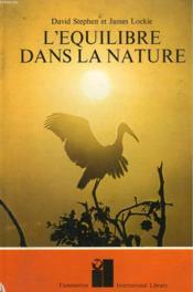 L'Equilibre Dans La Nature. - Couverture - Format classique