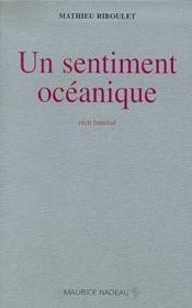 Un sentiment océanique - Couverture - Format classique