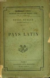 Le Pays Latin. - Couverture - Format classique