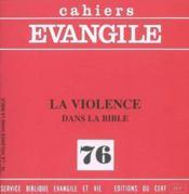 Cahiers De L'Evangile N.76 - Couverture - Format classique