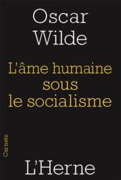 L'âme humaine sous le régime socialiste - Couverture - Format classique
