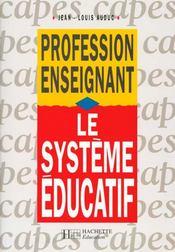 Le Systeme Educatif - Intérieur - Format classique