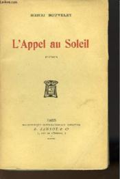 L'Appel Au Soleil - Couverture - Format classique