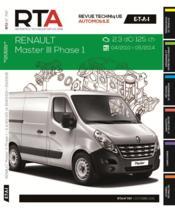 REVUE TECHNIQUE AUTOMOBILE N.797 ; Renault master III 2.3 dCi 04/2010>fourgon - Couverture - Format classique