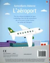Les aéroports - 4ème de couverture - Format classique
