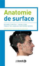 Anatomie de surface - Couverture - Format classique