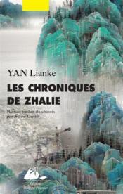 Les chroniques de Zhalie - Couverture - Format classique