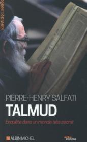 Talmud ; enquête dans un monde très secret - Couverture - Format classique