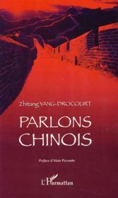 Parlons chinois - Couverture - Format classique