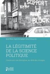 La legitimite de la science politique - Couverture - Format classique
