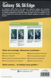 Samsung S6 et S6 Edge - 4ème de couverture - Format classique