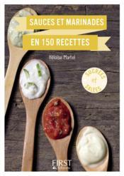 Sauces et marinades en 150 recettes - Couverture - Format classique