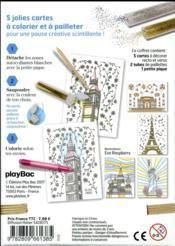 Atelier paillettes ; monuments du monde - 4ème de couverture - Format classique