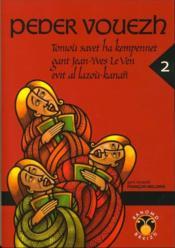 Peder vouezh v.2 ; toniou savet ha kempennet gant jean-yves le ven - Couverture - Format classique