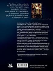 Secrets de bottier - 4ème de couverture - Format classique