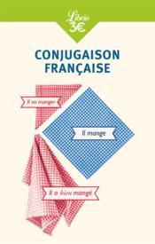 Conjugaison francaise - Couverture - Format classique