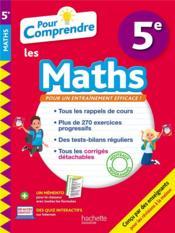 Pour comprendre les maths ; 5e - Couverture - Format classique