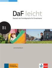 Daf leicht ; allemand ; B1 ; lehrerhandbuch - Couverture - Format classique