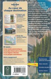 Ouest Canadien et Pntario (5e édition) - 4ème de couverture - Format classique
