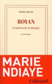 Royan ; la professeure de français - Couverture - Format classique