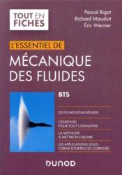 L'essentiel de mécanique des fluides ; BTS - Couverture - Format classique