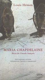 Maria chapdelaine - Intérieur - Format classique