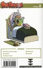 Pen dragon t.2 ; shogun - 4ème de couverture - Format classique
