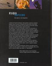Robo Sapiens ; Une Espece En Voie De D'Apparition - 4ème de couverture - Format classique
