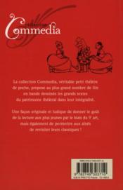 Les précieuses ridicules, de Molière - 4ème de couverture - Format classique