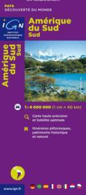 Amérique du Sud - Couverture - Format classique
