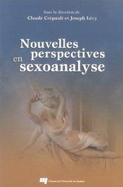 Nouvelles perspectives en sexoanalyse - Intérieur - Format classique