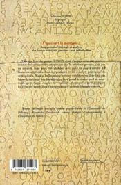 À quoi sert la métrique ? interprétation littéraire et analyse des formes métriques grecques : une introduction - 4ème de couverture - Format classique