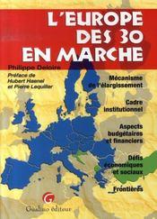 L'europe des 30 en marche - Intérieur - Format classique