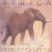 Africa ; Carnets D'Artiste - Intérieur - Format classique