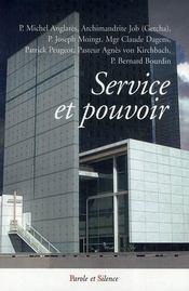 Service et pouvoir - Intérieur - Format classique