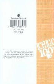 Ichigo 100% t.4 - 4ème de couverture - Format classique