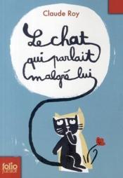Le chat qui parlait malgré lui - Couverture - Format classique