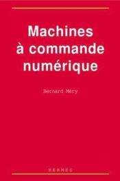Machines a commande numerique - Couverture - Format classique