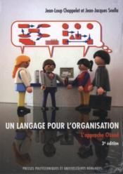 Un langage pour l'organisation l'approche ossad - Couverture - Format classique